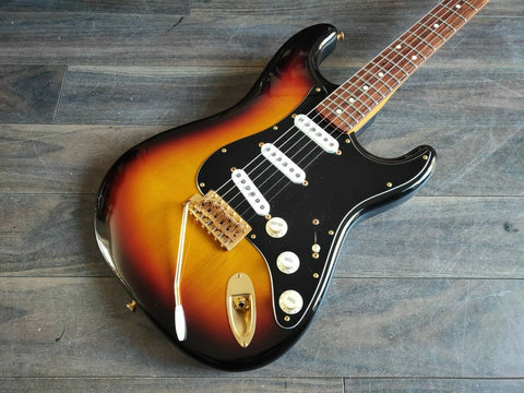 2005 Fender Japan ST62G-SPL SRV Stevie Ray Vaughan Stratocaster (Sunburst)