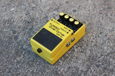 1995 Boss OD-2r Turbo Overdrive Vintage Effects Pedal