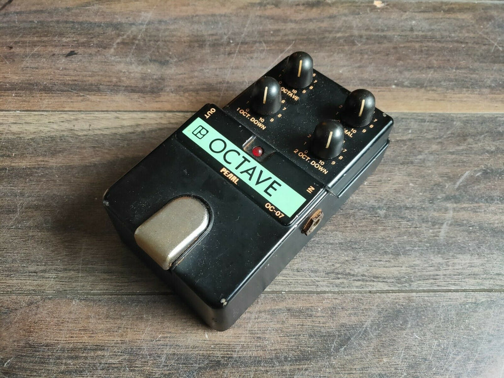 1980's Pearl OC-07 Analog Octaver MIJ Japan Vintage Effects Pedal