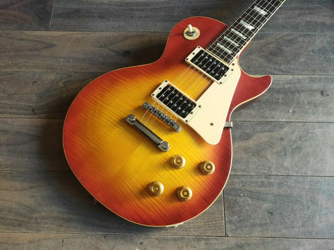 1991 Burny Japan (Fujigen) RLG-70 Super Grade Les Paul Standard (Iced Tea Burst)