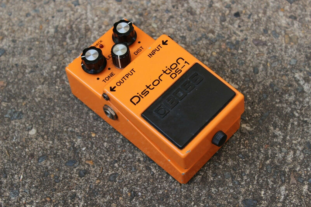1981 boss ds 1 distortion mij long dash vintage effects pedal mojo stompboxes. Black Bedroom Furniture Sets. Home Design Ideas