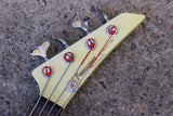 1985 Fernandes Japan BXB-55 Explorer Bass Vintage Electric Guitar