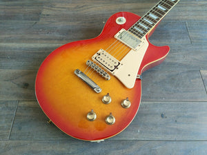 1980 Aria Pro II Japan Leopard Les Paul Standard (Cherry Sunburst)