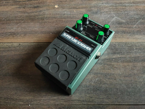 1980s Maxon ST-01 Super Tubescreamer MIJ Japan Effects Pedal
