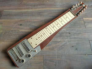 1960's Teisco Japan Model 8N 8-String Lap Steel Slide Guitar