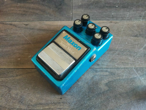 1984 Maxon SM-9 Super Metal Distortion MIJ Japan Effects Pedal