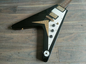 1990's Brian by Bacchus '58 Style Flying V (Black)