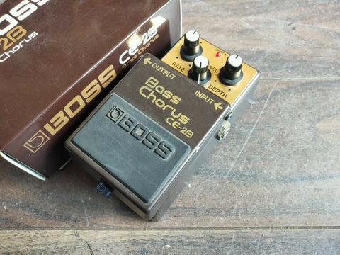 1988 Boss CE-2B Bass Chorus MIJ Japan Vintage Effects Pedal