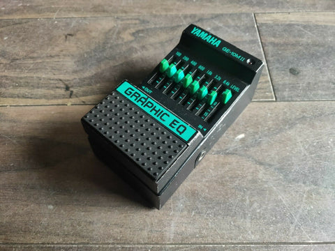 1980's Yamaha GE-10M II Graphic EQ Effects MIJ Japan Pedal