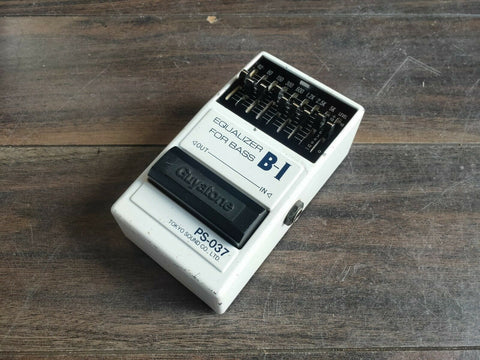 1990 Guyatone PS-039 B-I Bass EQ MIJ Japan Effects Pedal