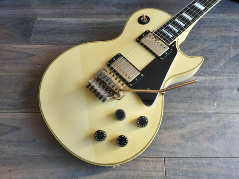 1987 Burny LC-100YS Yasu Model Floyd Rose Les Paul Custom (Made in Japan)