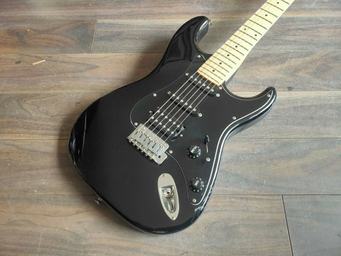1991 Fender Japan STM-600 Medium Scale Stratocaster (Black)