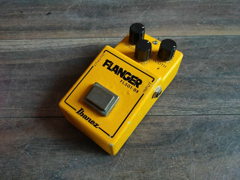 1981 Ibanez FL-301DX Flanger MIJ Japan Vintage Effects Pedal