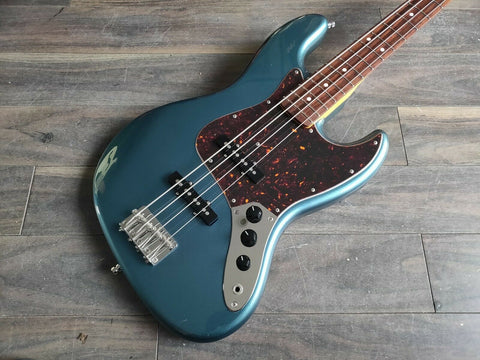 2004 Fender Japan JB62 '62 Reissue MIJ Jazz Bass (Old Lake Placid Blue)