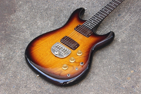 1979 Greco Japan GO II-550 Vintage Electric Guitar (Natural Brownburst)