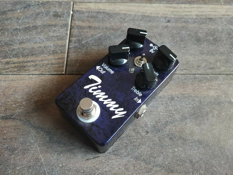 Paul C Timmy Boutique Transparent Overdrive Effects Pedal
