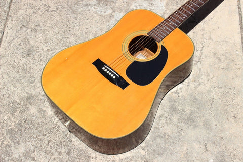 1970's Tomson (Gibson Logo) GW280 Vintage Acoustic Guitar - Made in Japan