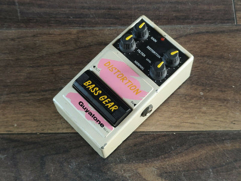 1990's Guyatone BG-01 Bass Distortion MIJ Japan Vintage Effects Pedal