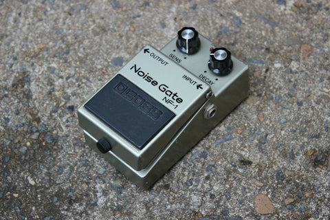 1981 Boss NF-1 Noise Gate Vintage MIJ Japan Effects Pedal