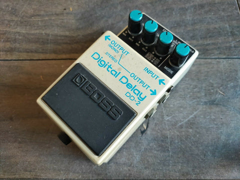 1986 Boss DD-2 Digital Delay Vintage MIJ Japan Effects Pedal
