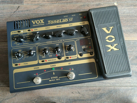 VOX ToneLab ST Guitar Multi Effects System