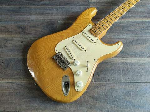 1979 Greco Japan Spacey Sound '57 Reissue Stratocaster (Natural)