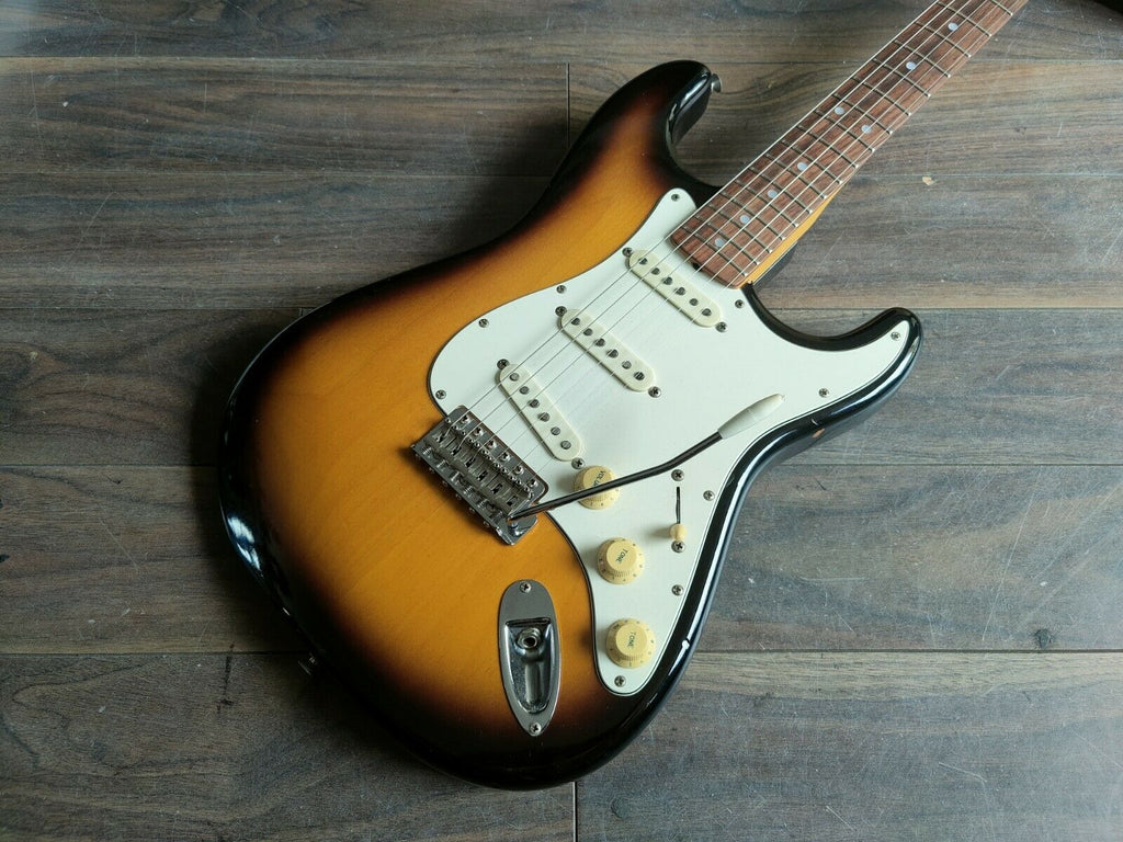 1983 Tokai Japan TST-50 Goldstar Sound Stratocaster (Brown Sunburst)