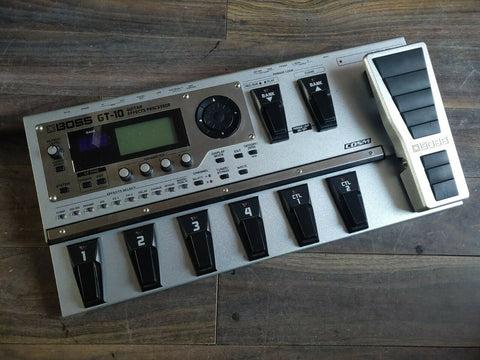 Boss GT-10 Multi Effects System