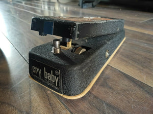 1970's Jen Crybaby Super (Made in Italy) Vintage Wah Pedal (Refurbished)