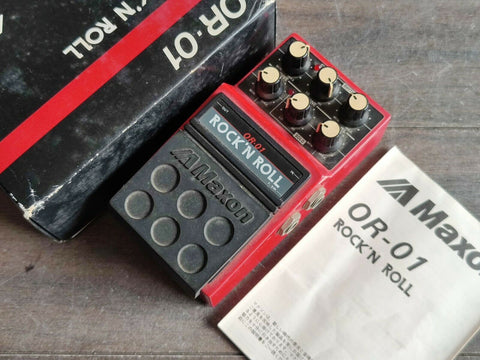 1980's Maxon OR-01 Rock and Roll Overdrive/Distortion Pedal w/Box