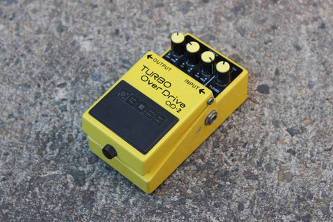Boss OD-2 Turbo Overdrive Vintage Effects Pedal