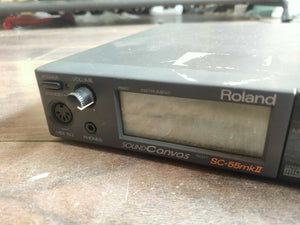1990's Roland SC-55mkII Sound Canvas Midi Sound Module