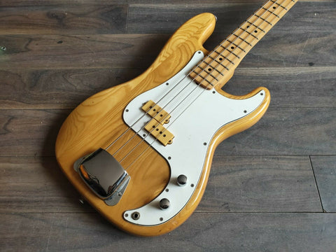1980 Aria Pro II Japan PB-500N Primary Precision Bass (Natural) w/Dimarzio
