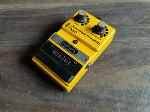 Vintage DOD FX50 (Made in the USA) Overdrive Preamp Guitar Effects Pedal