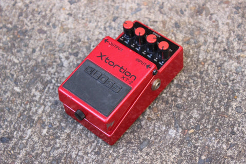 1997 Boss XT-2 Xtortion Distortion Vintage Effects Pedal
