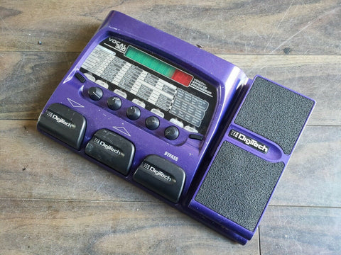 Digitech Vocal 300 Effects Modelling Floor Processor