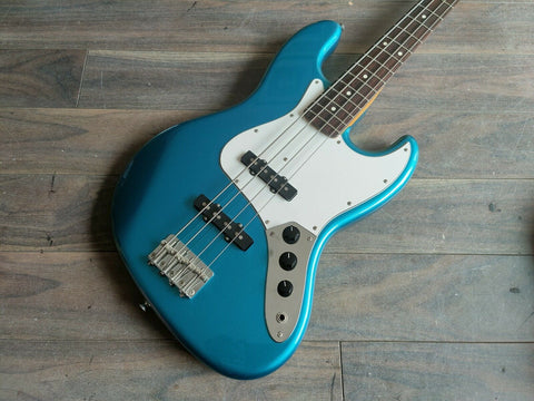 2011 Cool Z (Fujigen) ZJB-1R Jazz Bass (Lake Placid Blue)