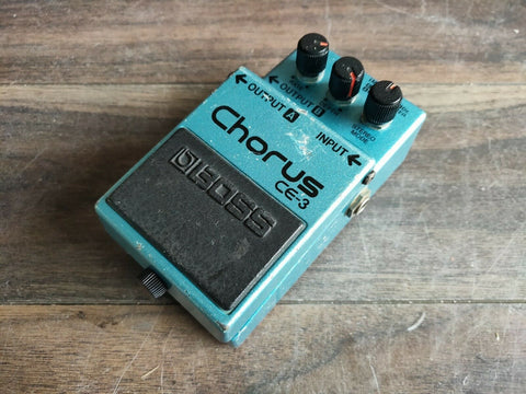 1982 Boss CE-3 Stereo Chorus MIJ Japan Vintage Effects Pedal