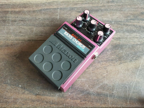 1980's Maxon BDC-01 Digital Bass Chorus Vintage Effects Pedal