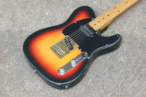 1985 Fender Japan TL67-65SPL E Series Keith Richards Telecaster (Sunburst)
