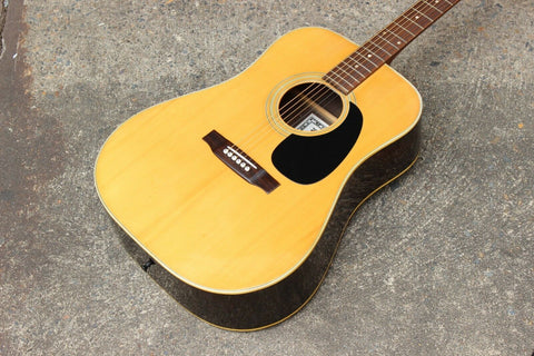 Vintage K.Suzuki & Co Martin Style Acoustic Guitar - Made in Japan