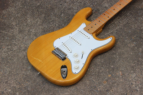 1970's Tomson Splendor Series Stratocaster Japan Electric Guitar (Natural)