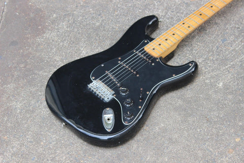 1980 Greco SE-450 Spacey Sound 72 Stratocaster Japan MIJ (Black)