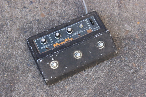 1970's Roland AP-5 Phase Five MIJ Japan Vintage Effects Pedal 240v