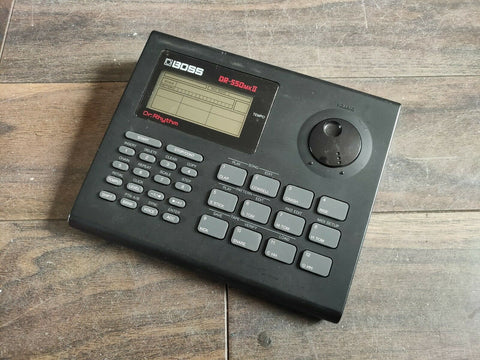 Boss DR-550mkII Dr Rhythm Vintage Drum Machine
