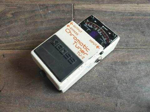 Boss TU-2 Chromatic Tuner Effects Pedal