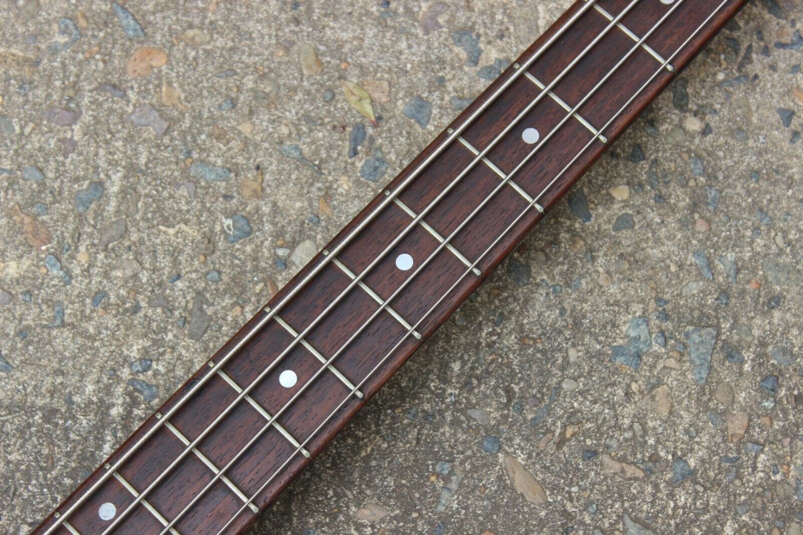 1960's Teisco NB-4 Offset Vintage Bass Guitar (Made in Japan)