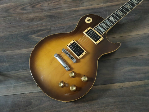 1976 Greco Japan EG Les Paul Standard (Brown Tobacco Sunburst)