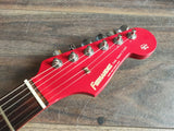 1986 Fernandes Japan SSH-40 HSS Contemporary Stratocaster (Candy Apple Red)