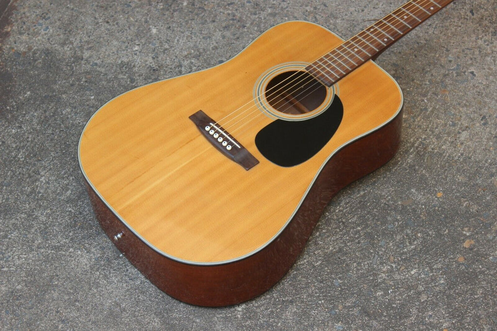 1970's Morris W-15 Acoustic Western Guitar (Made in Japan)